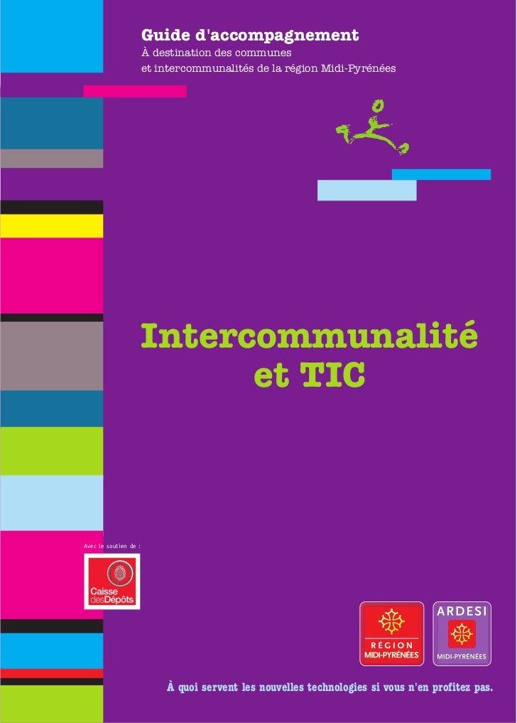 Guide daccompagnement                       À destination des communes                       et intercommunalités de la ré...