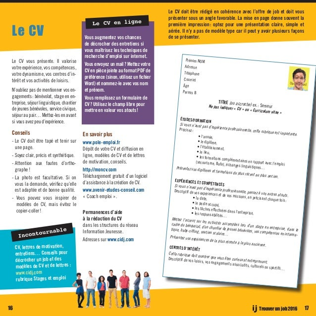 le guide des jobs en midi