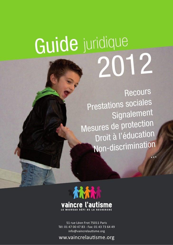 Guide               juridique                              2012                                 Recours                   ...