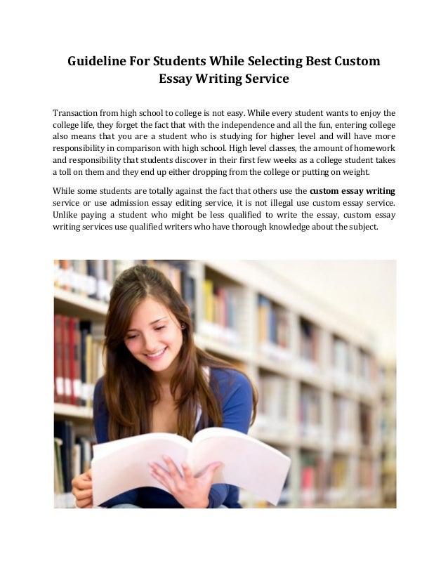 Get Custom Essay Writing with 100% Service Guarantee!