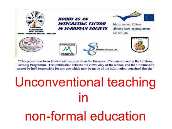 unconventional education Language teaching methods video one: introduction  it is common in language teacher education programs to survey.