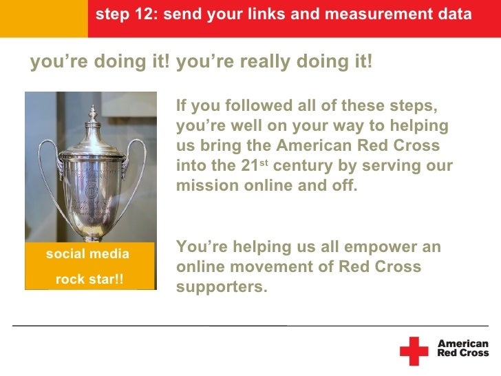 step 12: send your links and measurement data  you're doing it! you're really doing it!                   If you followed ...