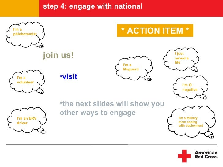 step 4: engage with national  I'm a phlebotomist                        * ACTION ITEM *                 join us!          ...
