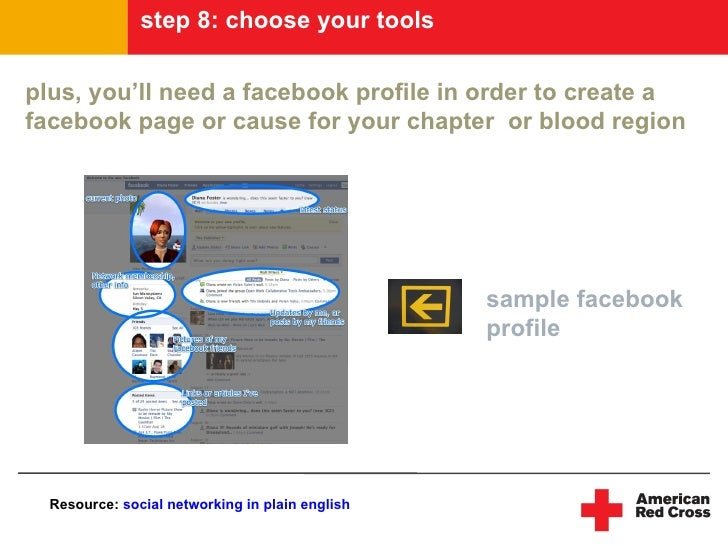 step 8: choose your tools  plus, you'll need a facebook profile in order to create a facebook page or cause for your chapt...