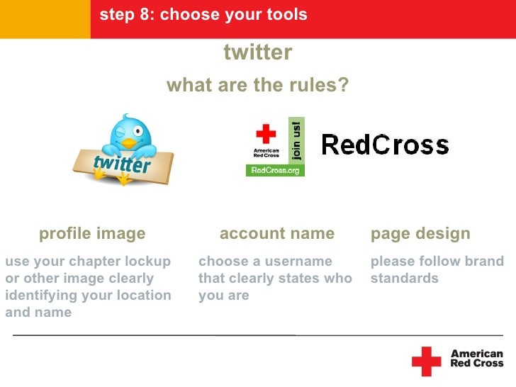 step 8: choose your tools                                 twitter                         what are the rules?          pro...