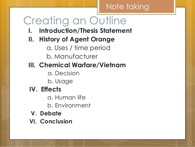 chemical warfare thesis statement Germany used unrestricted submarine warfare world war i essay submitted by unknown the doane ii outline thesis statement.