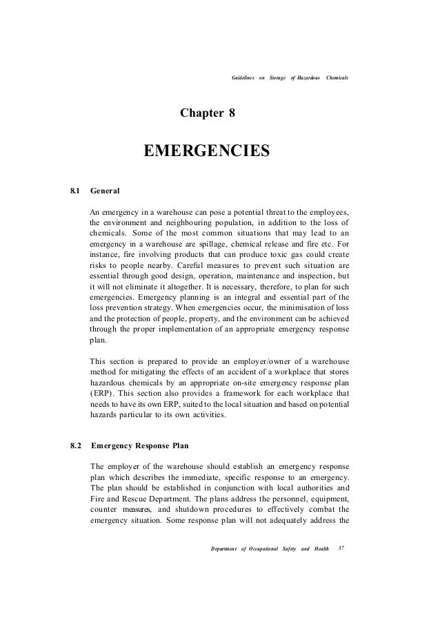 guidelines on storage of hazardous chemicals Chemical storage regulations hazardous chemicals should be separated and stored in locked safety storage cabinets within a central chemical storage area federal regulations, state laws, and even insurance companies may dictate how hazardous chemicals must be stored below is a brief summary of specific chemical storage.