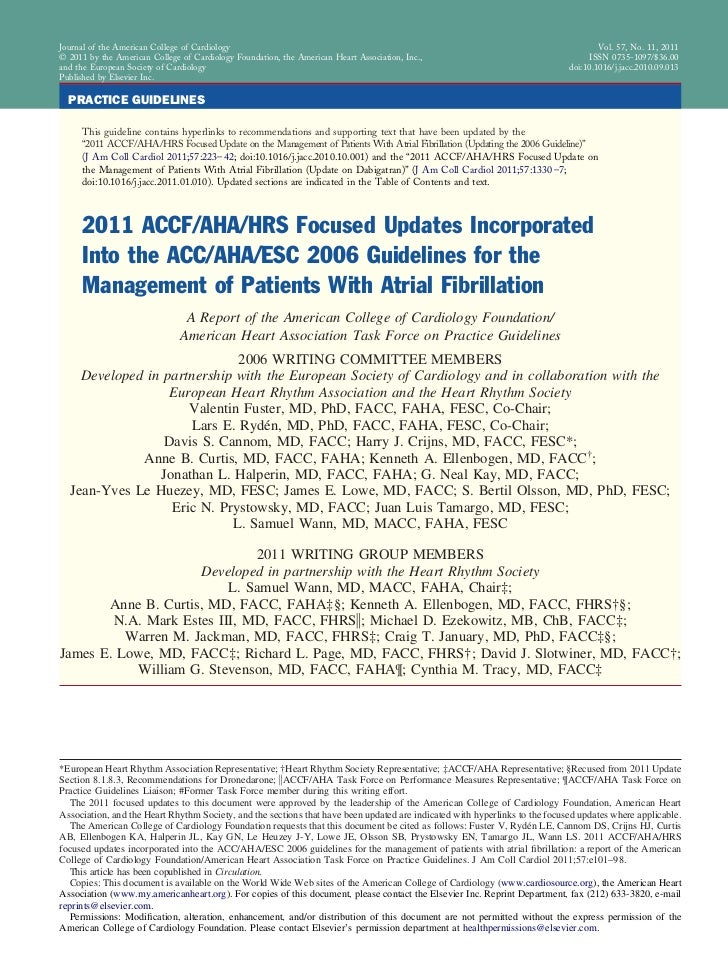 Journal of the American College of Cardiology                                                                             ...
