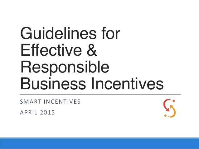 Guidelines for Effective & Responsible 