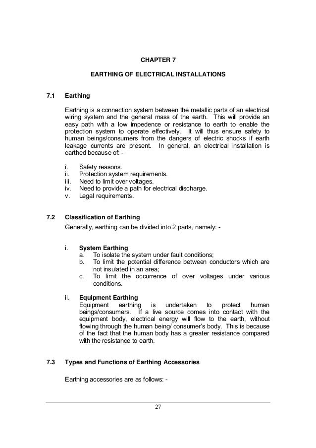 guidelines for electrical wiring in residential buildings rh slideshare net Electrical Outlet Wiring Diagram residential wiring grounding and safety