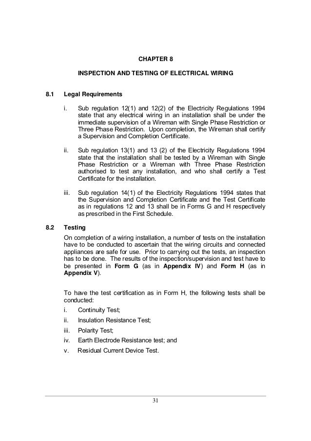 Guidelines for electrical wiring in residential buildings 32 publicscrutiny Gallery