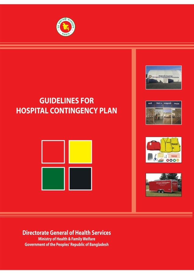 Guidelines For Hospital Contingency Plan