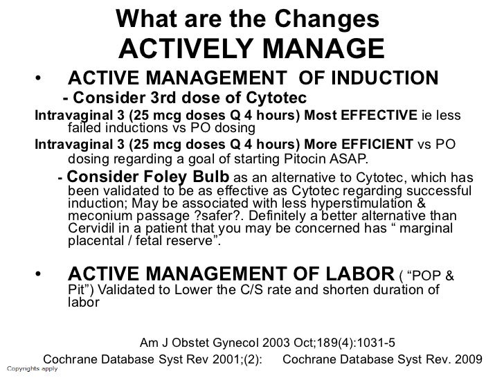 Cytotec For Induction Dose