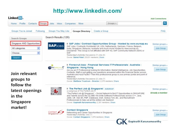 Guidelines For Job Search In Singapore Ver 1.0 GK