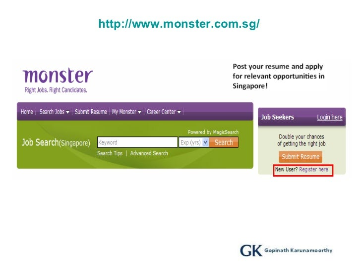 guidelines for job search in singapore ver 1 0 gk