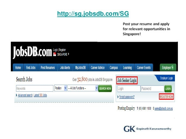 guidelines for job search in singapore ver 2 0 gk