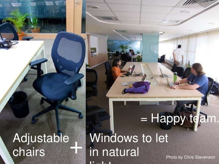 Guidelines for open office layouts