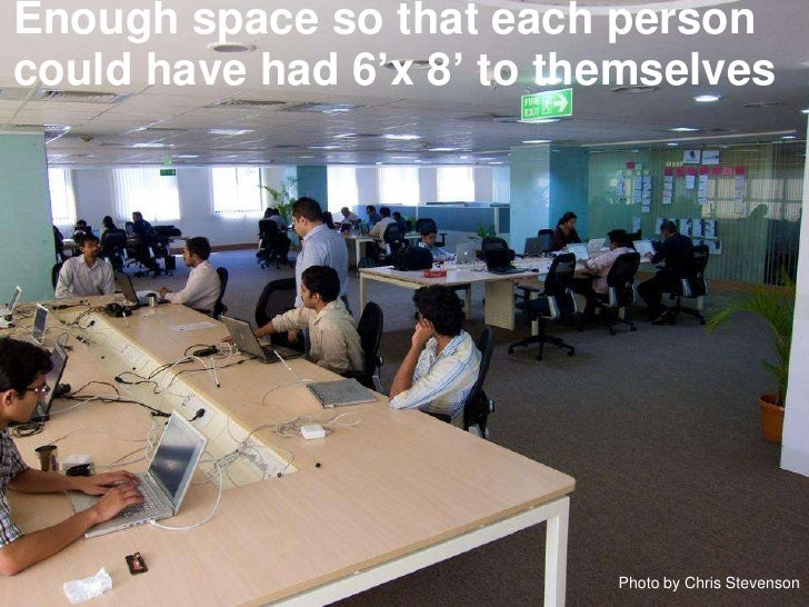 Guidelines for open office layouts for Office design considerations