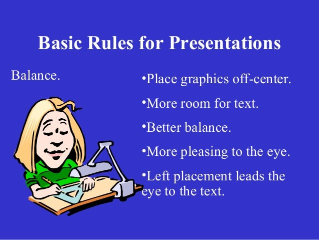 guidelines for preparing powerpoint presentations