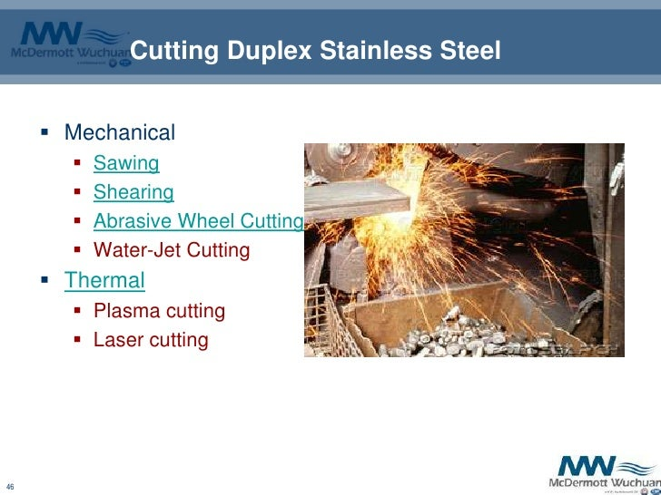 Guide Lines For Duplex Stainless Steel Welding - 웹