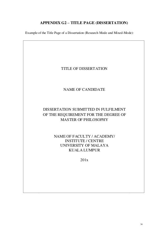 A dissertation submitted to the faculty of