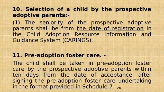 Guidelines governing adoption of children cara guidelines 26 spiritdancerdesigns Image collections