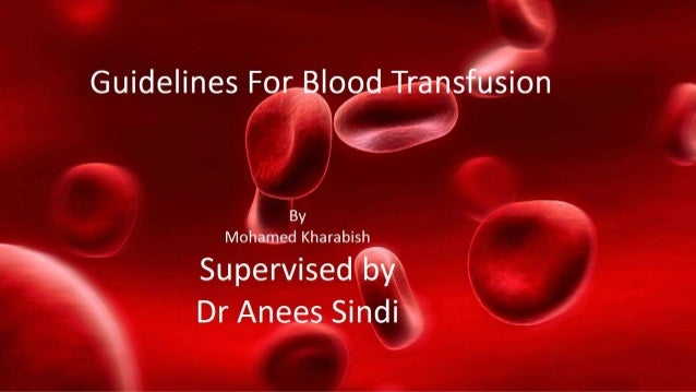 Does the patient need a blood transfusion? yes Is the patient having surgery? No yes Consider other alternatives for blood...