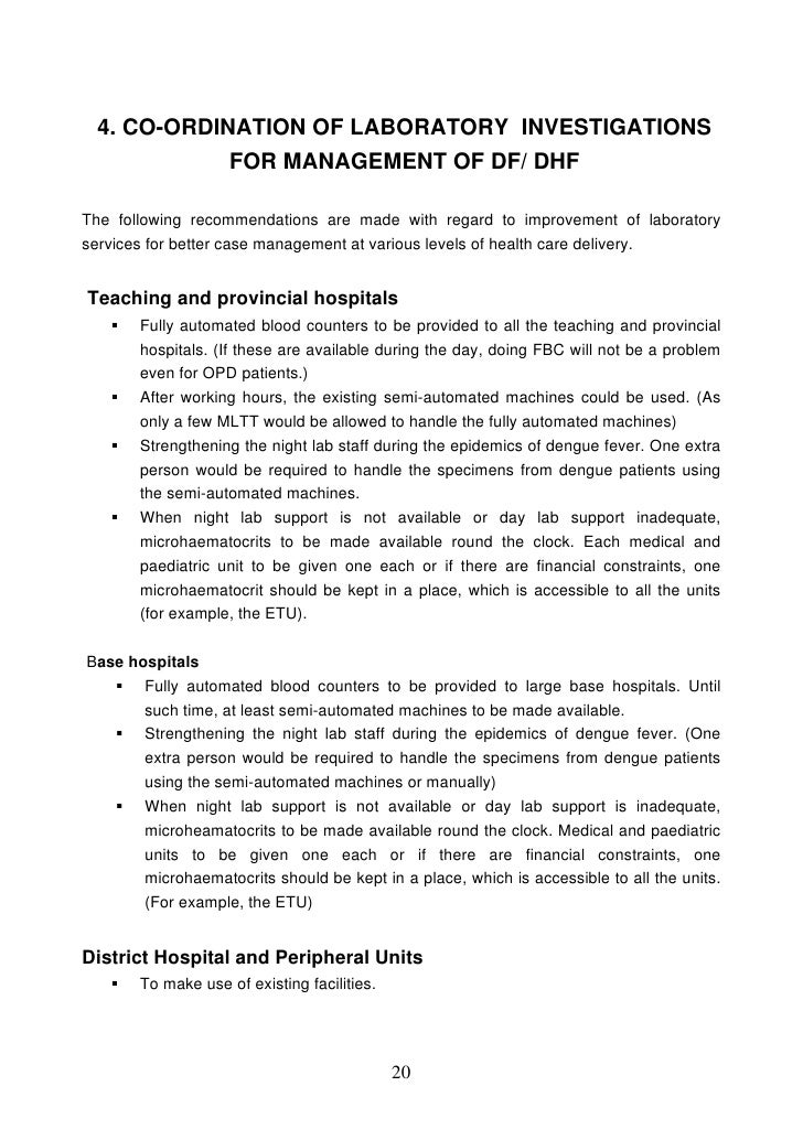 Lyric day n night lyrics : Guidelines on clinical management of Dengue Fever & Dengue Hemorrhagi…