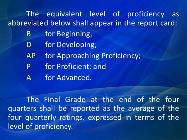 rating of learning outcomes under the Assessment and rating of learning outcomes under the k to 12 basic education curriculum divine mercy college foundation inc caloocan city professional educati.