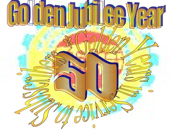 50 Golden Jubilee Year Golden Years in Service to Subscribers  *