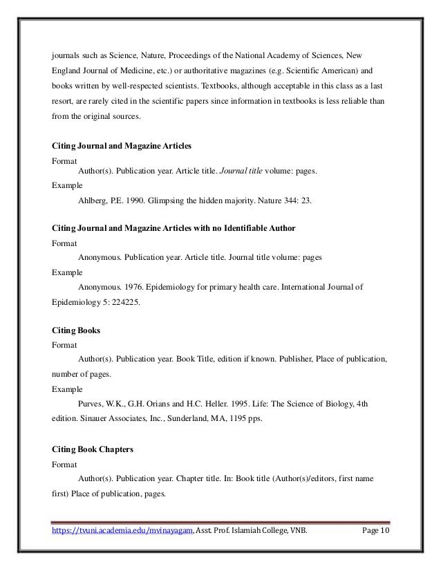 Page 9 10 Journals