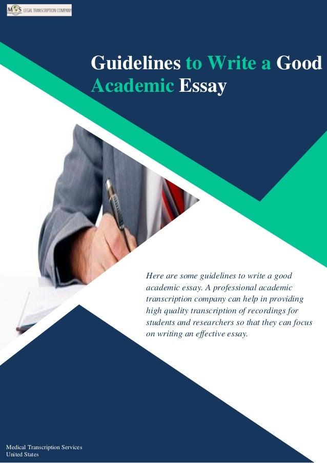 academic essay writing examples