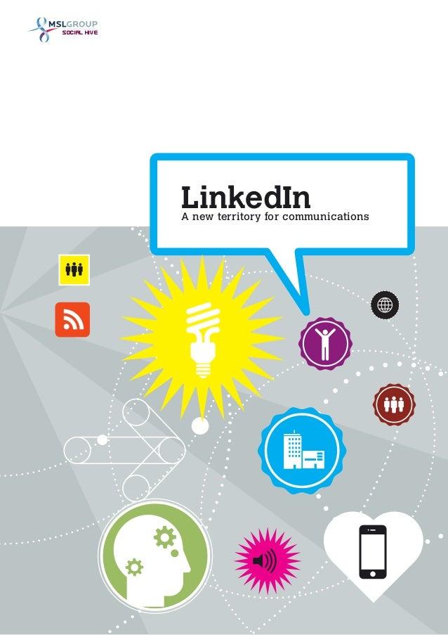 LinkedInA new territory for communicationsSOCIAL HIVE