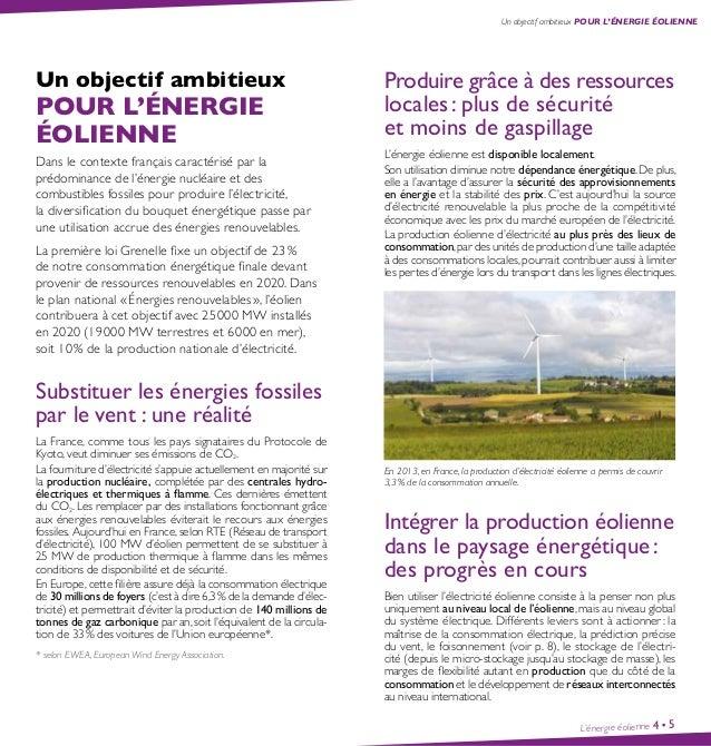 Guide l'énergie éolienne - Ademe Slide 3