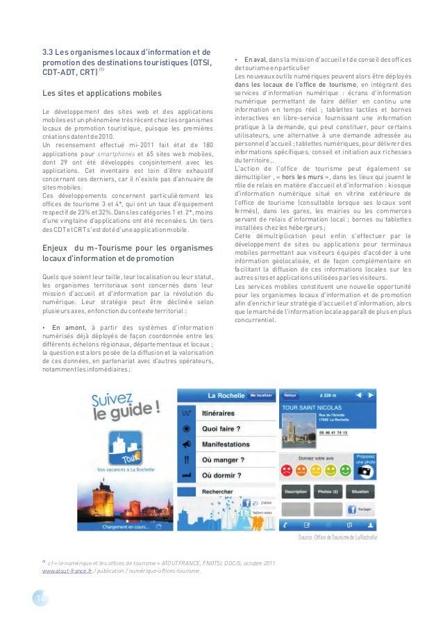 PARTIE II –Enjeux et solutions mobiles pour les PME dutourismePanorama des PME du tourisme et des exploitants indépendants...