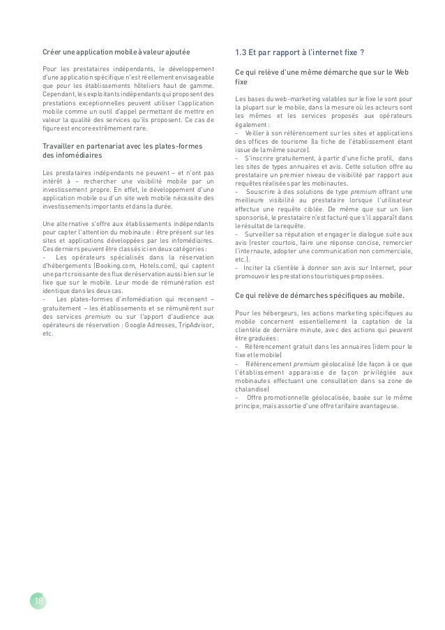 2 - Les sites culturels et récréatifs : enjeux et solutions mobiles2.1 Les enjeuxLe déploiement des services mobiles dans ...