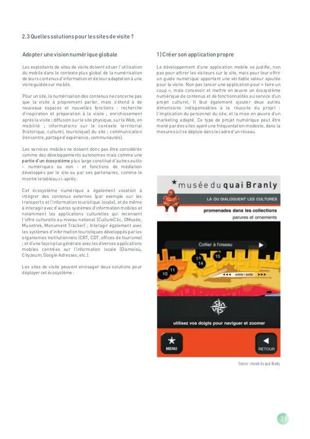 Applications mobiles à vocation culturelle                                                                                ...