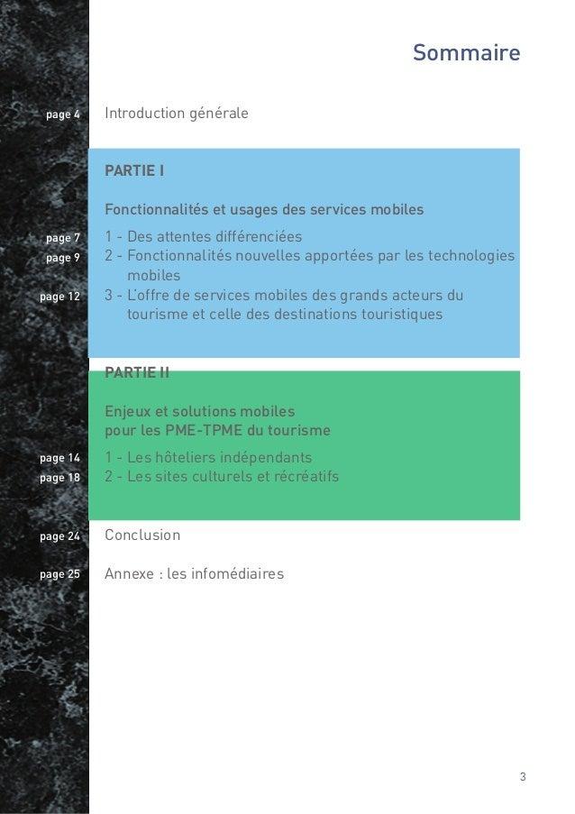 Introduction générale1. Du e -Tourisme au m -Tourisme                                       3. Pourquoi ce guide à destina...