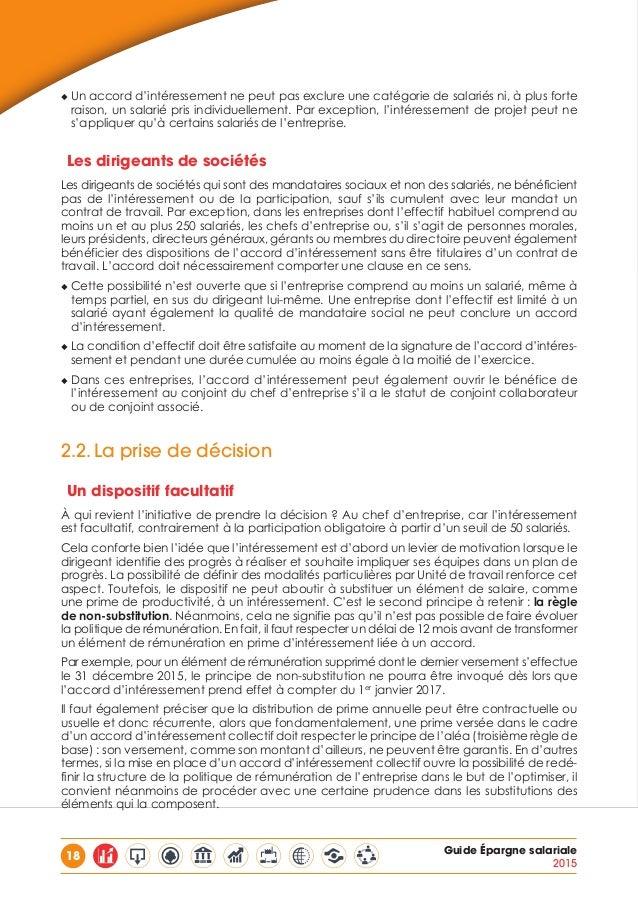 Guide Du Medef Epargne Salariale