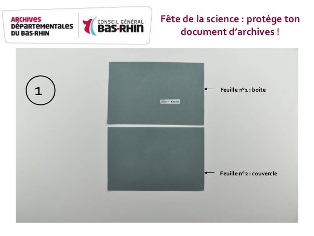 Feuille n°1 - boîte Feuille n°2 - Couvercle Feuille n°1 : boîte Feuille n°2 : couvercle 1 Fête de la science : protège ton...