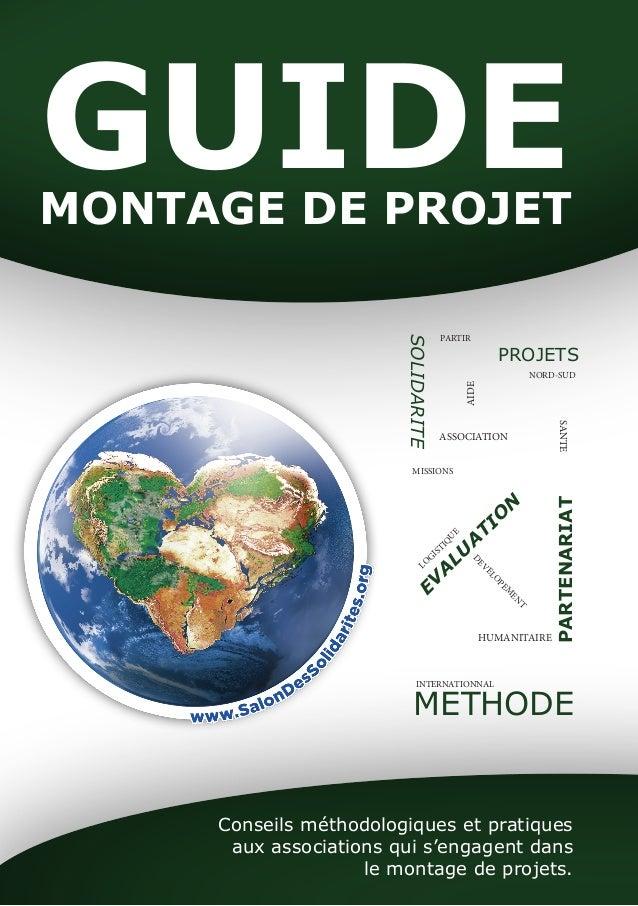 GUIDE MONTAGE DE PROJET  SOLIDARITE  PROJETS  NORD-SUD  SANTE  PARTENARIAT  PARTIR  ASSOCIATION  MISSIONS  AIDE  EVALUATIO...