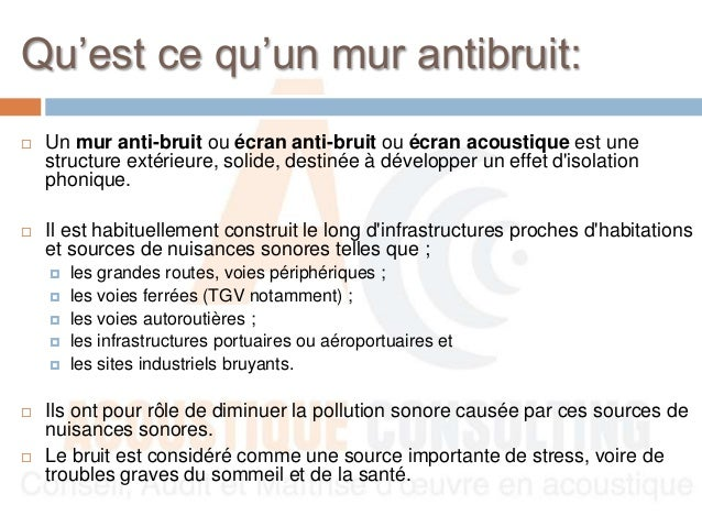 guide mur anti bruit