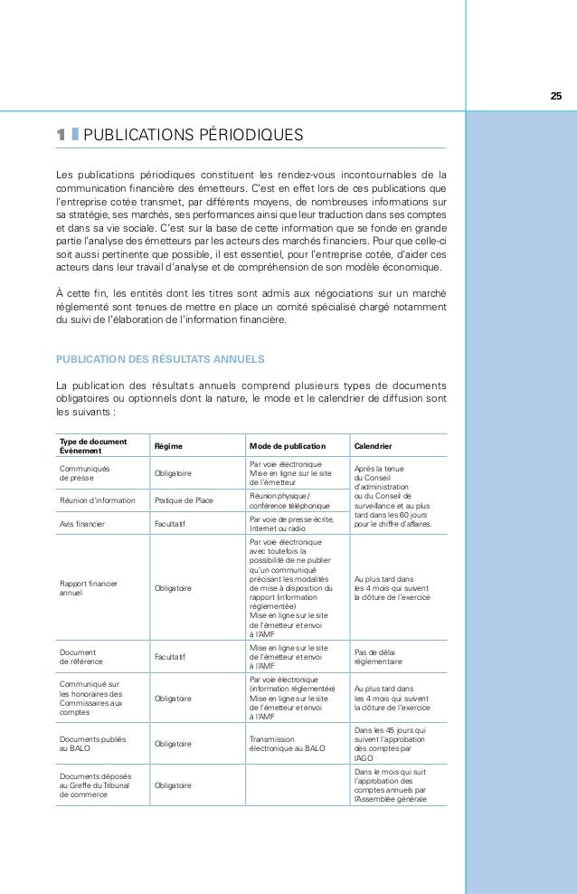 26 Les sociétés cotées sur Alternext doivent rendre publics, dans les quatre mois de la clôture de l'exercice, les comptes...