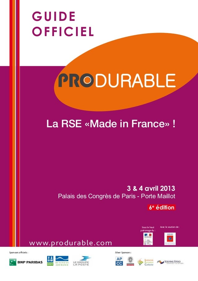 guide                       officiel                          La RSE «Made in France» !                                   ...