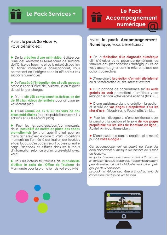 Guide du partenariat office de tourisme val de garonne 2015 - Office de tourisme de marmande ...