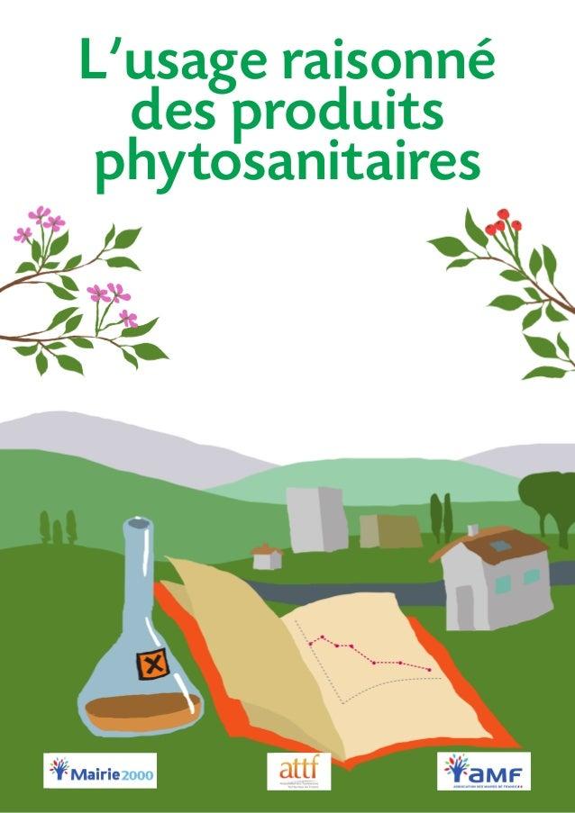 L'usage raisonné des produits phytosanitaires
