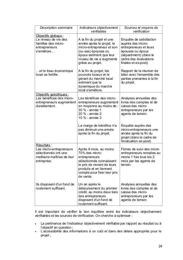 guide pour  u00e9laborer un cadre logique ue