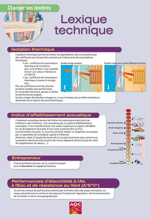 L'isolation thermique permet de limiter les déperditions, elle se caractérise par des coefficients qui doivent être précis...