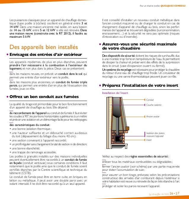 guide pratique se chauffer au bois ademe. Black Bedroom Furniture Sets. Home Design Ideas