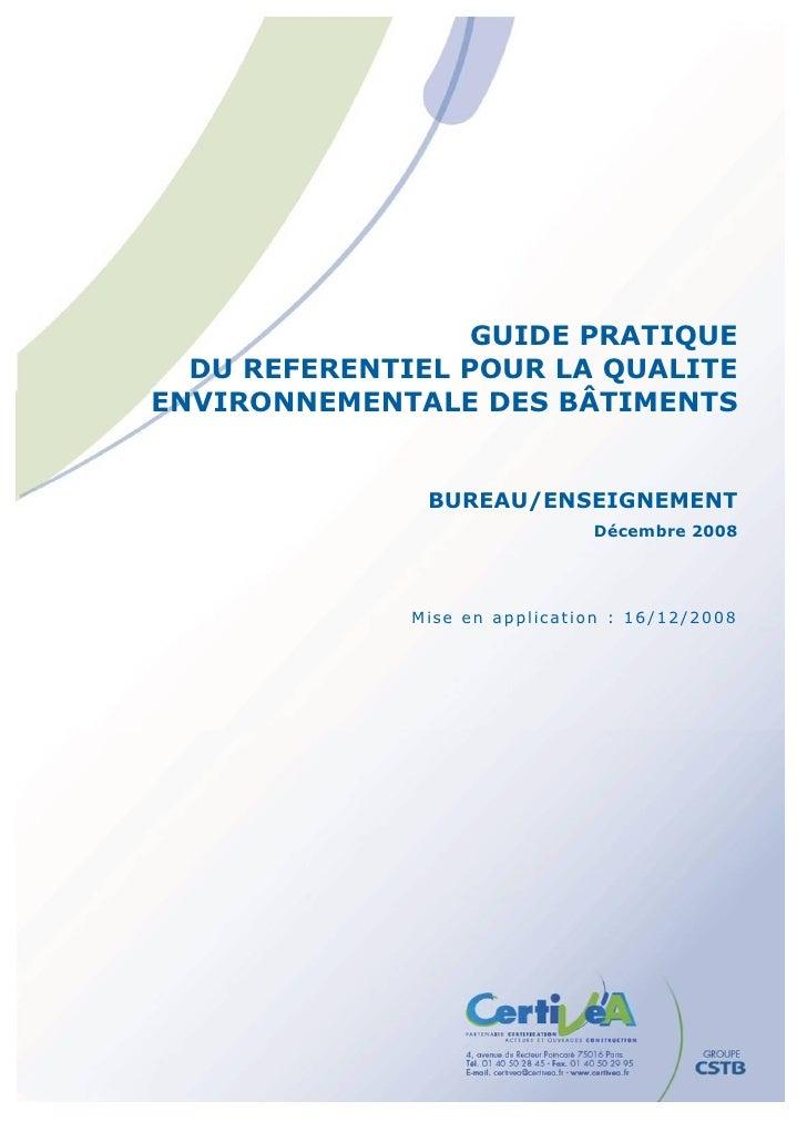 Guide pratique bureau_enseignement_decembre_2008